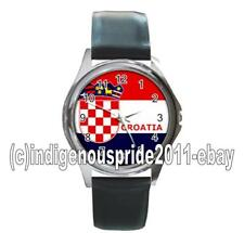 Croatia/Croatian/Croatia Flag UNISEX Watch-Unisex.Great gift.Hurry.Mens & Ladies