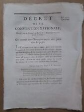 DECRET 1794 : PRISES ACCORDEES AUX CHIRURGIENS-MAJORS (marine)