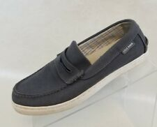 Cole Haan Penny Loafers Mens Grand OS Pinch Maine Classic Gray Canvas Shoes 7M