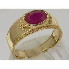 Wedding Solitaire Ruby Fine Rings