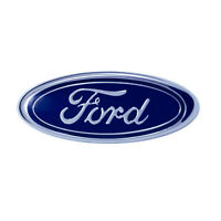 1987-1993 Genuine Ford Blue Oval Front Bumper Grille Factory Replacement Emblem