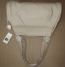 UGG Bag Triple Pocket Leather Satchel Cornsilk NEW $295