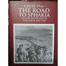 Crete 1941 The Road to Sphakia by Peter Holmes. Contains Many Photos and Maps