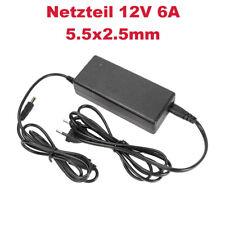 12V 6A Netzteil Ladekabel Ladegerät ersetzt LSE9901B1250 BRA-6012WW HASU12FB60