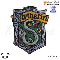 Harry Potter Slytherin Embroidered Iron On Sew On Patch Badge For Clothes etc