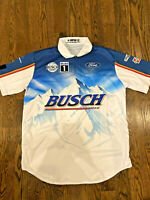 XL Kevin Harvick 2020 BUSCH DARLINGTON Throwback Pit Crew Shirt Team Issued WIN