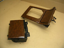 JDM HONDA LEGEND KA9 3.5 RL WOOD SHIFT CONSOLES WITH CUP HOLDER AND ASHTRAY  OEM