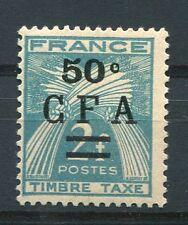 REUNION, 1949-50, timbre TAXE n° 37, type GERBES, neuf**