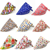 1X Summer Pet Dog Cat Bandanas Dog Bandage Scarf Dog Accessories Pet Supplies