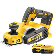 Dewalt DCP580N 18V XR Cordless Brushless Planer With 2 x 5.0Ah DCB184 Batteries