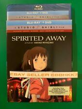 Spirited Away Blu-ray + Dvd & Slipcover Brand New Sealed Free Shipping