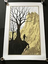 DAN MCCARTHY - It Felt Good To Be Lost RARE SIGNED art print 2008