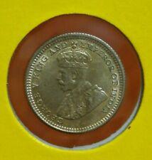 Straits Settlements KGV  5 Cents 1926 - UNC/BU