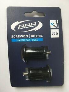 BBB SCREW ON BHT-96 HANDLEBAR PLUGS BLACK bar plug dura ultegra 105 Di2 trek