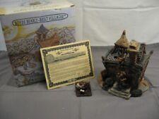 "Boyds Bearly-Built Villages ""Firestation"" 3 Pcs. Orig Box"