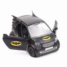 1/36 Alloy Diecast Black Smart Batman Vehicle Car Model Toy W Pull Back