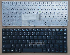 New For MSI X350 X360 X460 X460DX CR41 CX41 EX465 laptop Keyboard US Black Frame