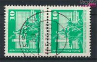 DDR 1868sP senkrechtes Paar Bedarfsstempel gestempelt 1974 Bauwerke (9187940