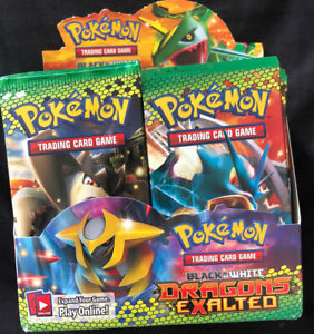 Pokémon Black And White Dragons Exalted FACTORY SEALED Booster Pack! UNWEIGHED!