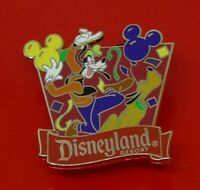 Used Disney Enamel Pin Badge Goofy Character Disneyland Resort AAA Vacations