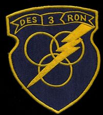 USN Destroyer Squadron Three 3 Ship Squadron Patch Q-1 1