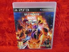 ps3 ULTIMATE MARVEL VS CAPCOM 3 Fighting Game Playstation PAL UK REGION FREE