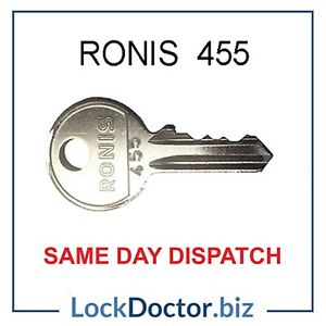 Ronis 455 Key - Access & Plant Machines & Switches **FREE 48HR TRACKED DELIVERY*