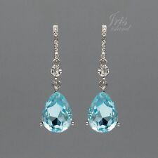 424b72548109 Pendientes de bisutería color principal azul cristal | Compra online ...