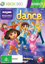 Xbox 360 Microsoft Nickelodeon Dance Kids Game Kinect Australian Stock