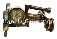 Vintage Brass Antique style Binocular Marine Compass Nautical Telescope Gift
