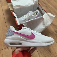 Nike Women's Air Max Oketo ES1 Trainers Size UK 6 EUR 40 White CD5448 101 NEW