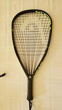"Head Graphene Radical 180 Grip 3 5/8"" Racquetball Racquet 57 EUC W/ Megablast 17"