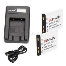Camcorder Batteries with Charger for Fujifilm