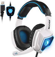 SADES SA-719 Spirit Wolf 7.1 Surround Sound USB Gaming Headset
