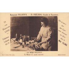 Cartes postale anciennes LYON restaurant Fillioux D. Fréchin gendre et successeu