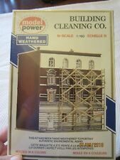 VINTAGE Model Power Building Cleaning Company Co. Unassembled KIT #1542