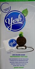 York Peppermint Patties Dark Chocolate Covered Individually Wrapped, 13.5 Grams