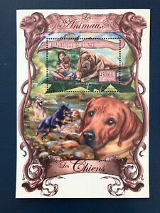Guinea 2013 /   Animals - Domestic Dogs / 1v minisheet MNH