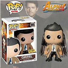 FUNKO POP #95 SUPERNATURAL CASTIEL HOT TOPIC W/ WINGS FREE S/H