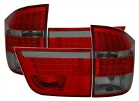 SMOKED LED REAR TAIL LIGHTS LAMPS FOR BMW X5 E70 2007-2012 MODEL V1