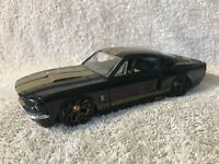 New! Jada Bigtime Muscle 1967 Black Ford Shelby GT-500 Diecast 1:24 Scale RARE!