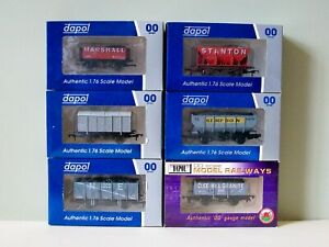 Assorted Dapol Wagons - 00 Gauge inc Clee Hill Ltd Edition