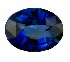 Natural Dark Blue Sapphire Oval Cut 5mm X 3.5mm Gem GEMSTONE
