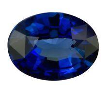 Natural Dark Blue Sapphire Oval Cut 6mm x 4mm Gem Gemstone
