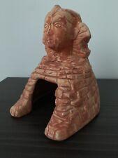 Ceramic Sphinx Hide Box Reptile Lizard Terrarium 5.5�