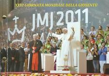 Vatikan 2 Euro Münze - 26. Weltjugendtag in Madrid 2011 - Numisbrief
