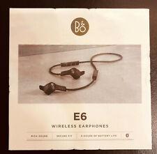 SEALED BOX B&O Bang & Olufsen Beoplay E6 in-Ear Wireless Earphones - Black