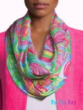 NWT 78.00 LILLY PULITZER RILEY INFINITY LOOP SCARF MULTI SO A PEELING