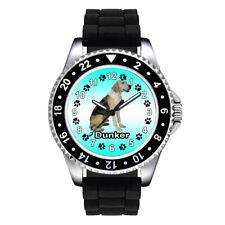 Dunker Dog Paw Unisex Mens Ladies Jelly Silicone Strap Quartz Wrist Watch Se761