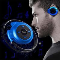 Wireless Bluetooth Waterproof Neckband Stereo Headphones Earphones Headset Sport
